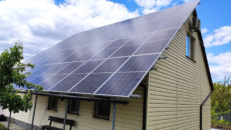 Солнечная электростанция 30 кВт в г. Кривой Рог